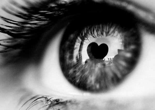 a szív meglátja