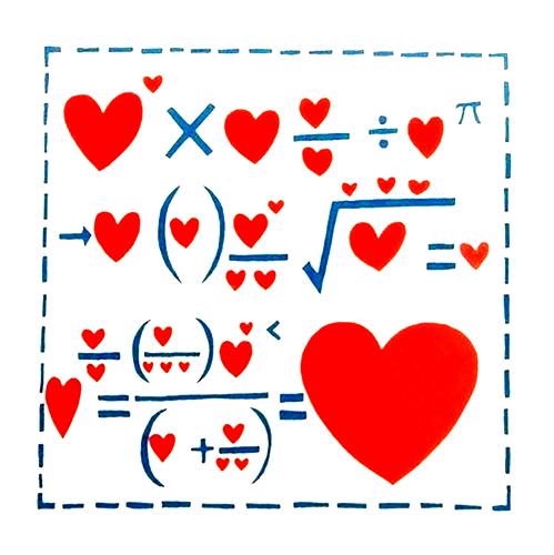 szerelem matematikája